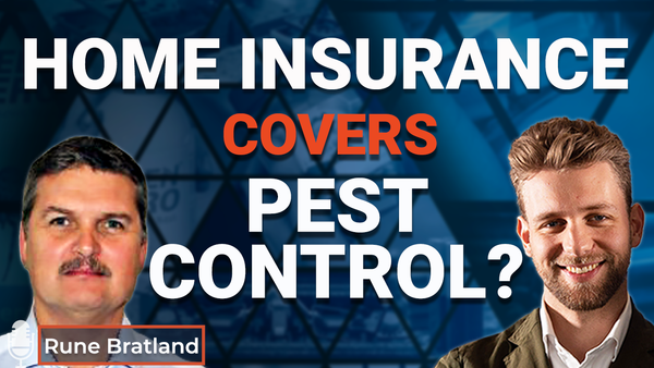 Ep.15 Home insurance covers pest control?