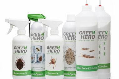 Sprays & powder against rodents and insects